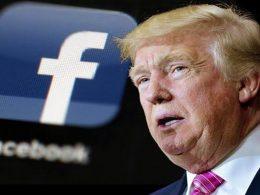 Facebook ilk kez Trump'ın bir paylaşımını sildi