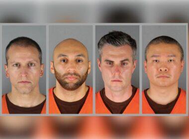Davada yargılanan polisler: (Soldan sağa) Derek Chauvin, J. Alexander Kueng, Thomas Lane ve Tou Thao (AP)