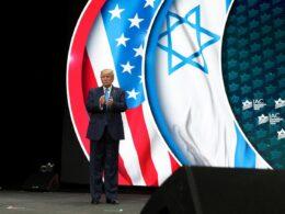 Trump daha önce katıldığı bazı Amerikalı Yahudi kuruluşların etkinliklerinde de destek talebini dile getirmişti (Reuters)