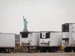 New York'ta korkunç tablo: Yüzlerce ceset ilkbahardan bu yana hâlâ kamyonlarda