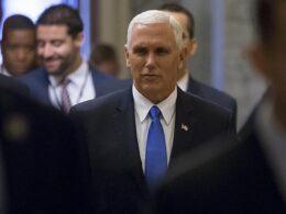 ABD Başkan Yardımcısı Pence, İsrail ziyaretini iptal etti
