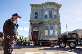 ABD'de 139 yıllık tarihi ev yeni adresine taşındı