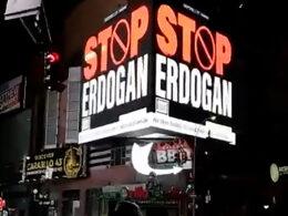 AK Parti'den New York'taki ilanlara tepki