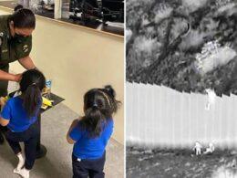 ABD ile Meksika sınırındaki 4.5 metrelik duvardan atılan iki kız kardeş ailesine kavuşacak