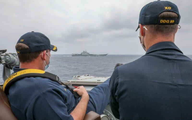 Çin, ABD Donanması'nı yayımladığı fotoğrafla algı savaşı yapmakla suçladı