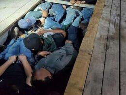ABD-Meksika sınırında göçmenler TIR'ın gizli bölmesinden 20 göçmen çıktı
