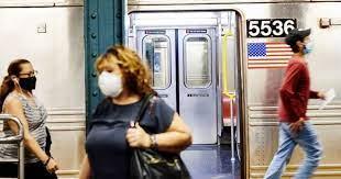 ABD'de toplu taşıma araçlarında maske zorunluluğu eylüle kadar uzatıldı